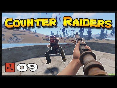 Fighting against COUNTER RAIDERS | Rust Raid Diary #09