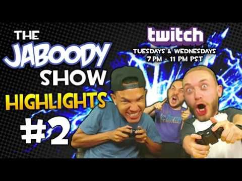 The Jaboody Show Twitch Highlights #2 Stone Cold and Gay Puerto Rican