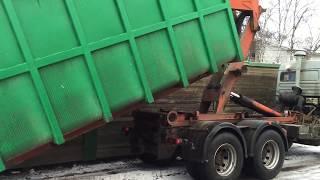 Вывоз мусора ПУХТО (контейнерами) в СПб