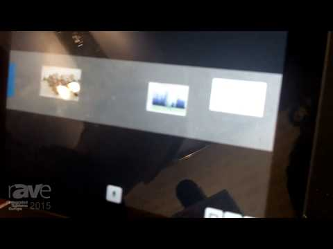 ISE 2015: NEC Demonstrates DisplayNote Interactive Wall Solution