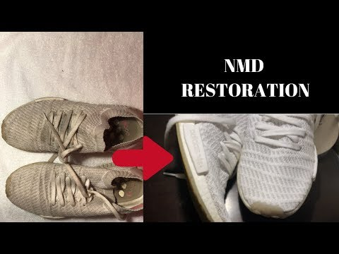White NMD: RESTORATION