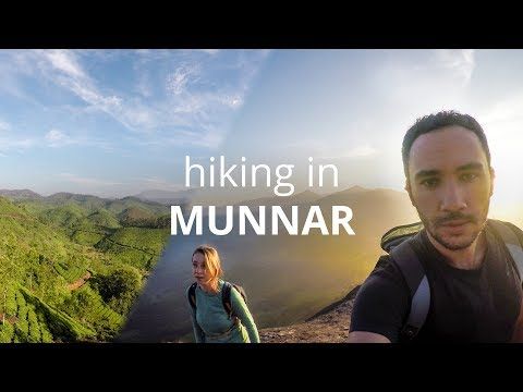 Hiking in Munnar, India