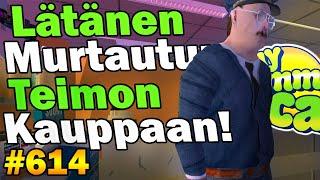 My Summer Car 614  Lätänen Murtautuu Teimon Kauppaan