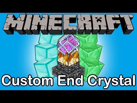 how to make ender crystals in minecraft