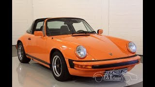 Porsche 911 SC Targa 1978 -VIDEO- www.ERclassics.com
