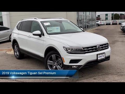 2019 Volkswagen Tiguan Sel Premium Joliet Plainfield Shorewood New Lenox Channahon Minooka Hom