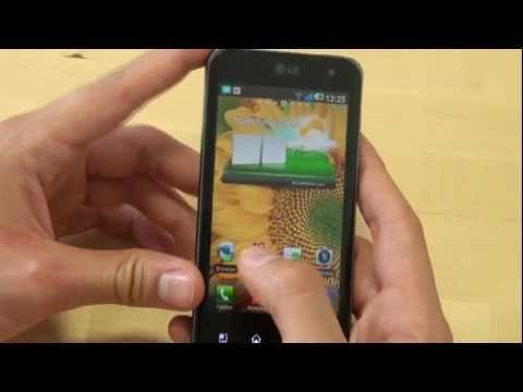 LG P990 Optimus Speed Test Multimedia