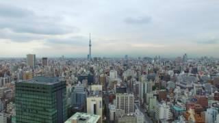 JAPAN TOKYO DRONE 4K UHD VIDEO