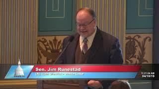 Sen. Runestad opposing mass Iraqi deportations