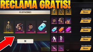 GARENA REGALA PERSONAJES, TICKETS DIAMANTE, SKINS EXCLUSIVAS Y MÁS GRATIS EN FREE FIRE! EVENTO 2020