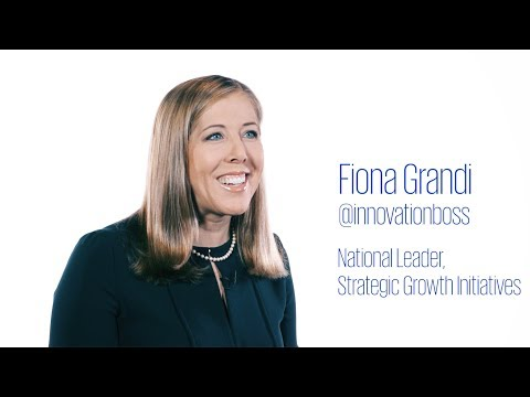 KPMG's Fiona Grandi provides insights on investment in innovation