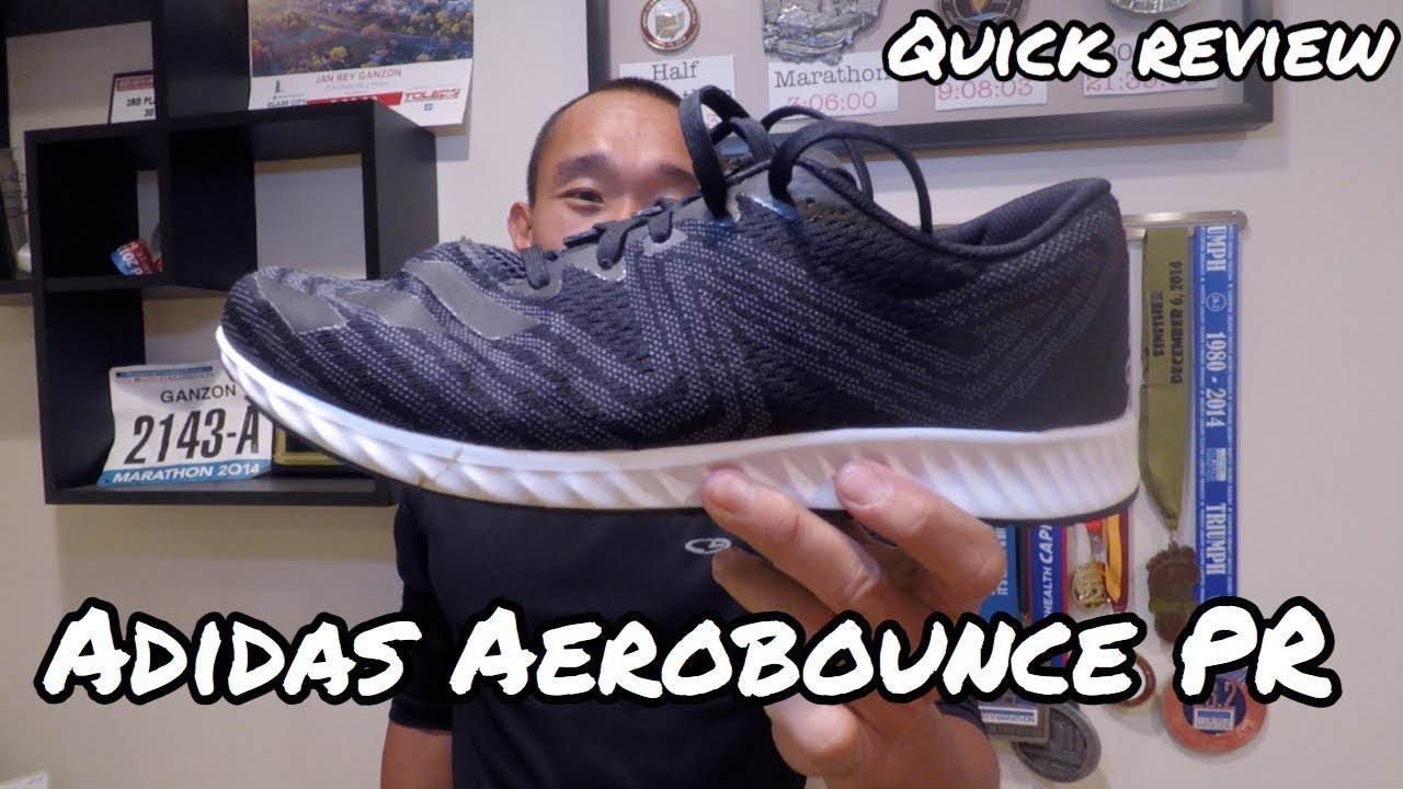 new products c7958 37eec Adidas aerobounce PR / quick review