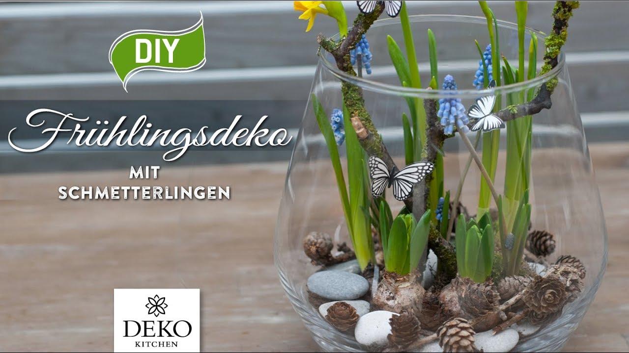 DIY: Süße Frühlingsdeko Mit Schmetterlingen [How To] Deko