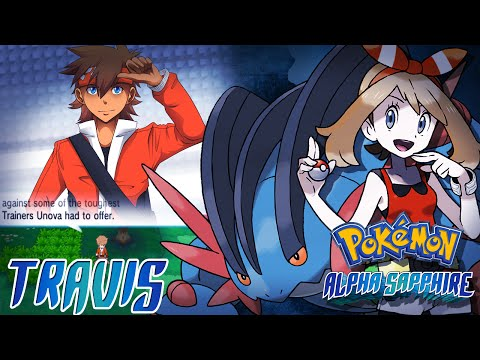 Pokemon Alpha Sapphire Hack: Vs. Travis (OC Trainer)