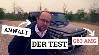G63 AMG - Ein geeignetes Juristenfahrzeug? DER TEST.