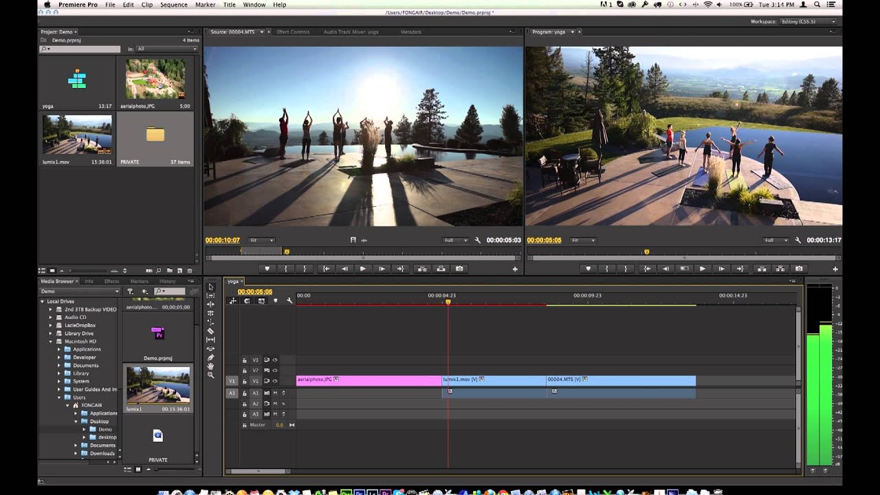 Learn adobe premiere pro cc in ten minutes over the shoulder learn adobe premiere pro cc in ten minutes over the shoulder method youtube baditri Choice Image