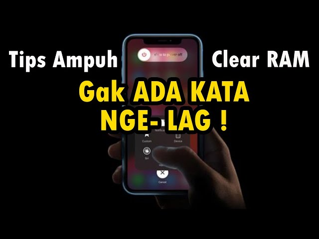 Tips Ampuh Clear RAM Pada iPhone