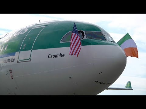 Aer Lingus Cockpit Video | Dublin to Seattle | Inaugural SEA Flight