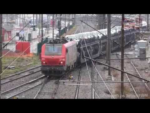 Freight train in Mulhouse France BB27140 VFLI
