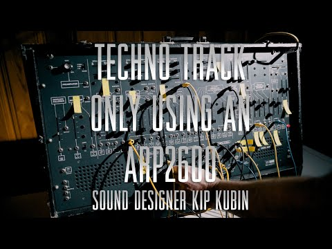 Making A Techno Track Only Using An Arp2600