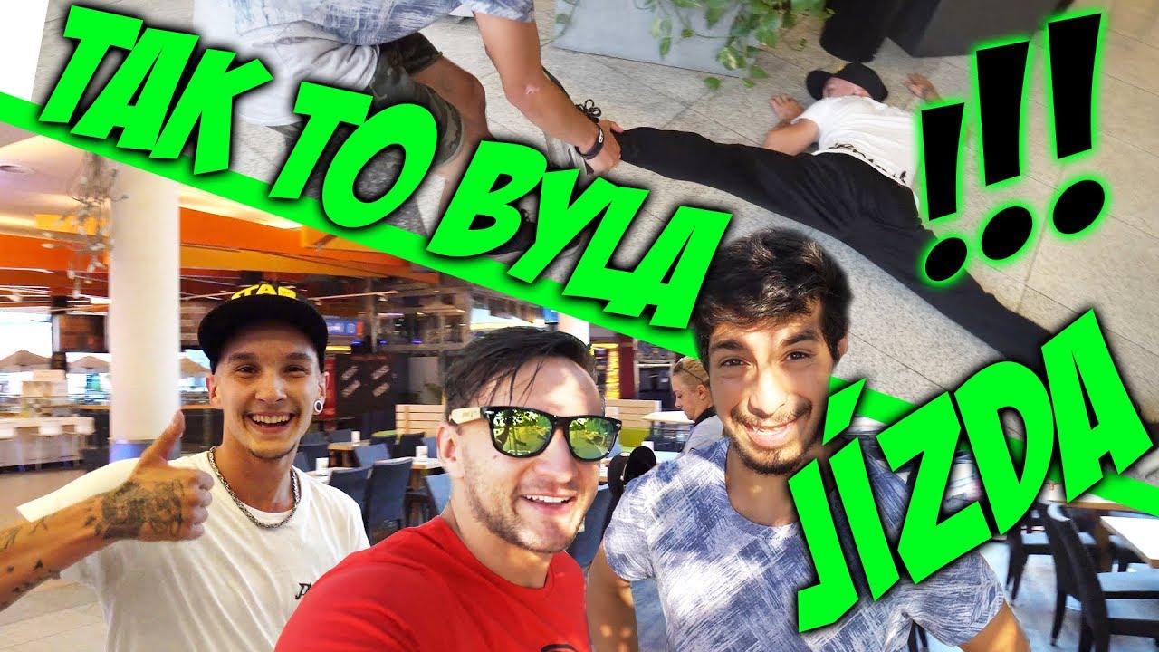 Zběsilý závod v obchoďáku přes 3 patra! | Tary, Jay a Šinty