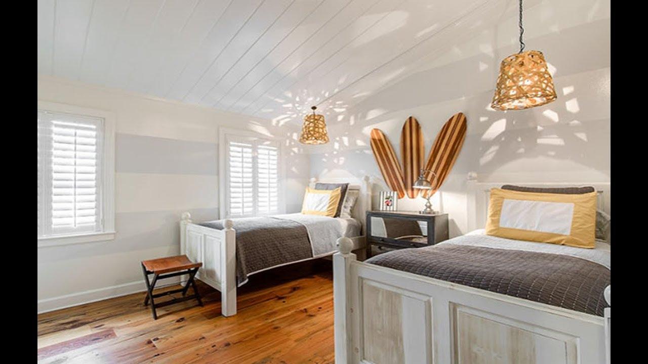 Coastal Master Bedroom 2018 Ideas - Coastal Chic Bedroom Decor - YouTube