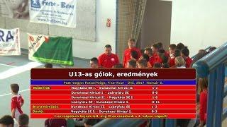 U13-as Pest megyei Futsal7Vége, Final Four (2017.02.05, összefoglaló)