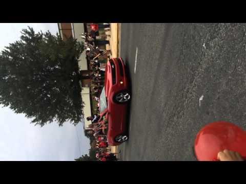 Central Davidson high school homecoming parade