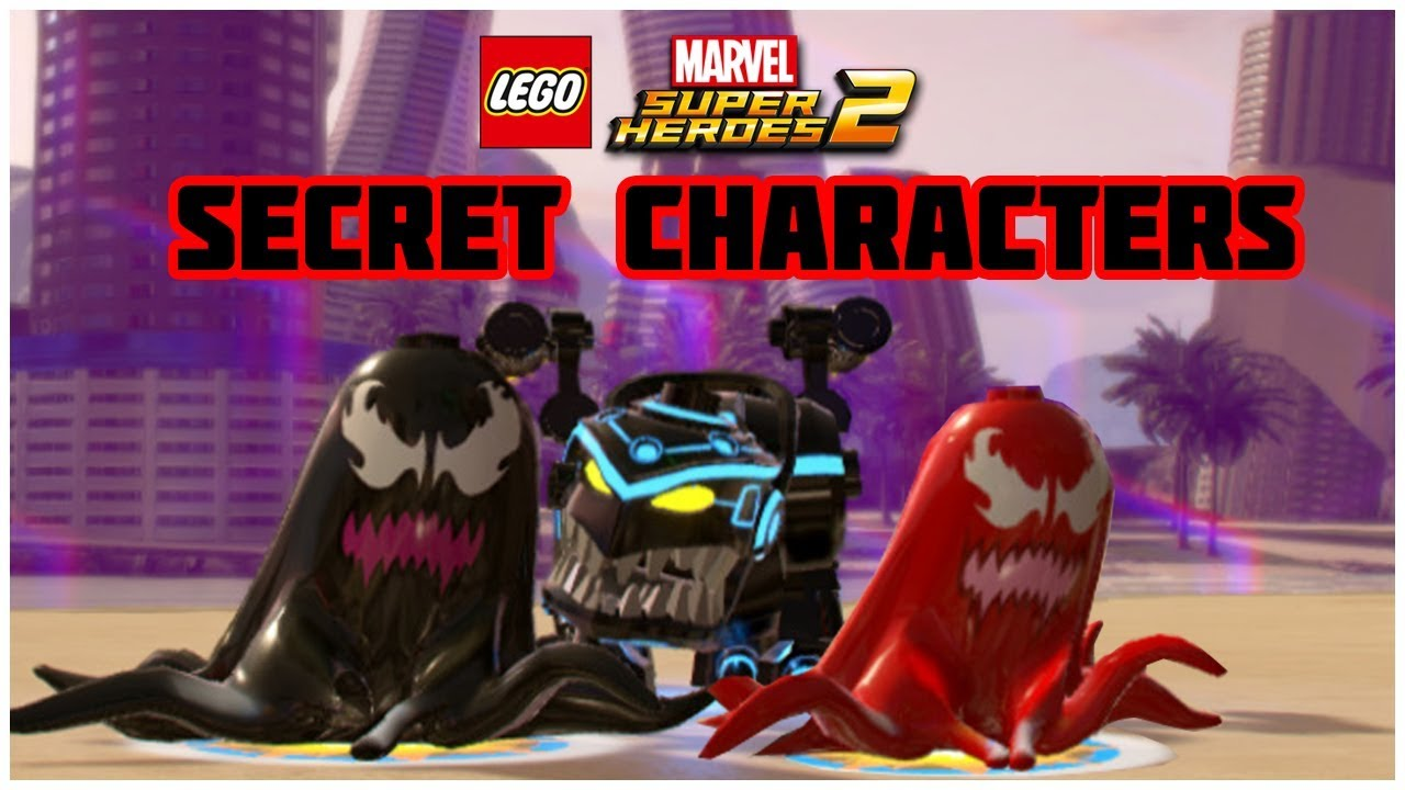 LEGO Marvel Superheroes 2 - ALL SECRET CHARACTERS - NPC (Part 3)