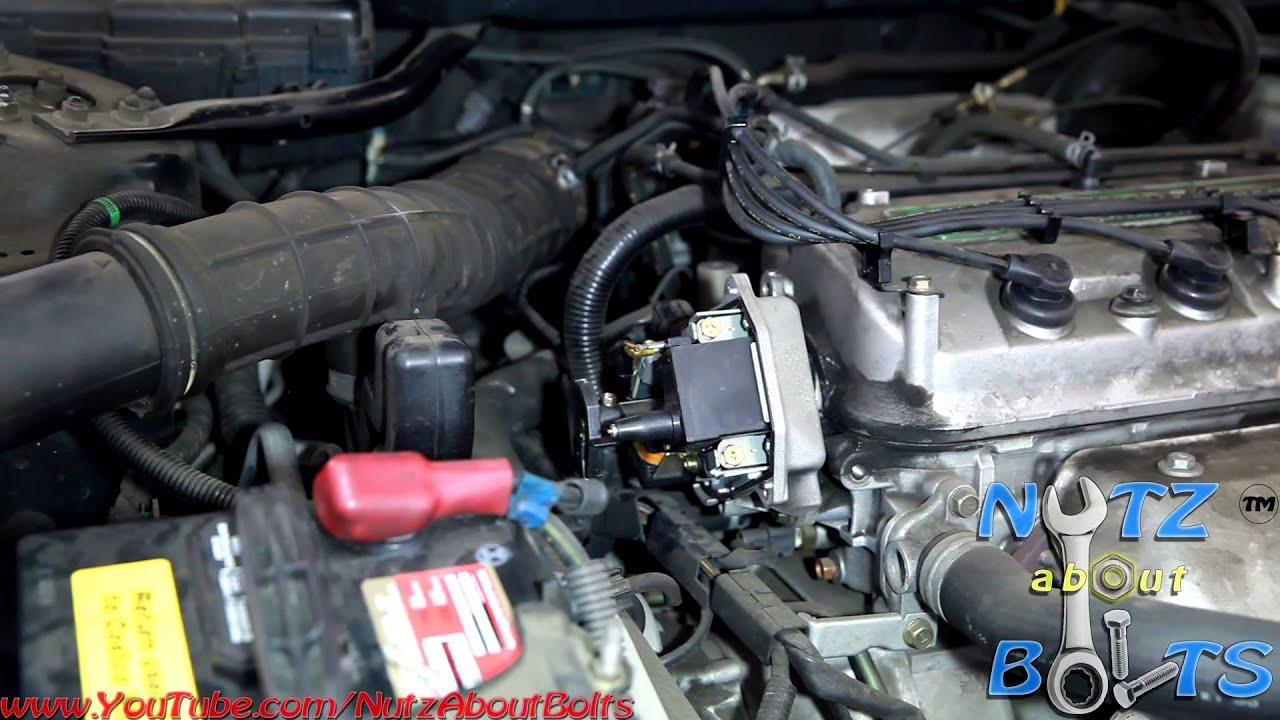 2003 Honda Accord Knock Sensor Wiring Diagram 1998 2002 Honda Accord Distributor Cap And Rotor Remove