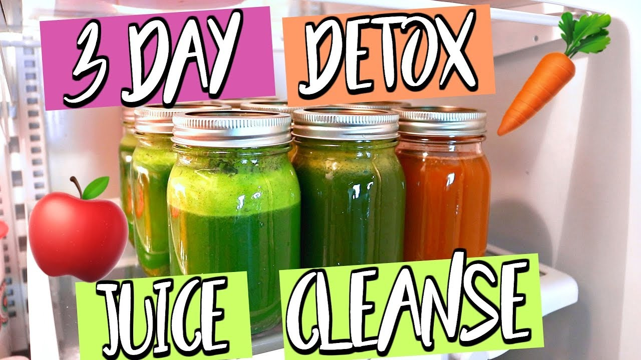 3 DAY DETOX JUICE CLEANSE! LOSE WEIGHT