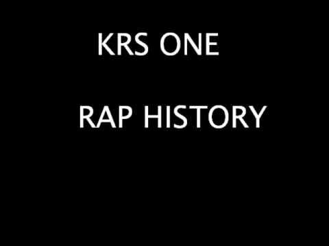 KRS ONE - RAP HISTORY