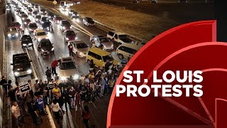 St. Louis Protests Continue, Demonstrators Shut Down A Portion Of I-64
