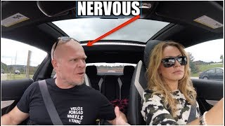 Crazy Wife Drives 630HP C63 For The First Time.. (Some Arguing Involved)