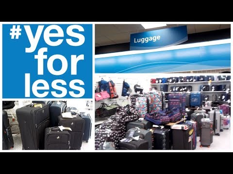 Shopping For Luggage |  Ross Yes For Less!!!