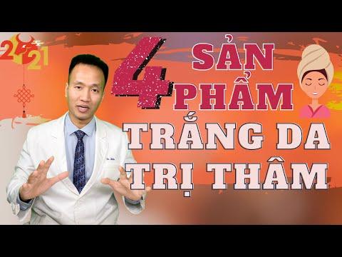 TRỊ THÂM MỤN - Làm TRẮNG DA với 4 nhóm trung cấp Hiệu quả    Dr Hiếu