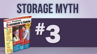 Self Storage San Antonio - Myth 3: One Type Of Self-storage Unit Is Just As Good As Another.