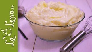 Crema de Vanilie - reteta rapida si simpla