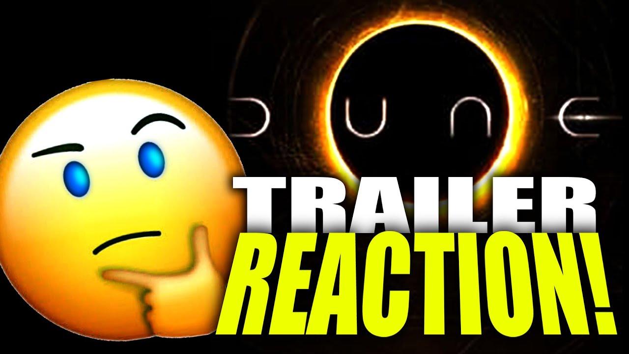 DUNE TRAILER REACTION!