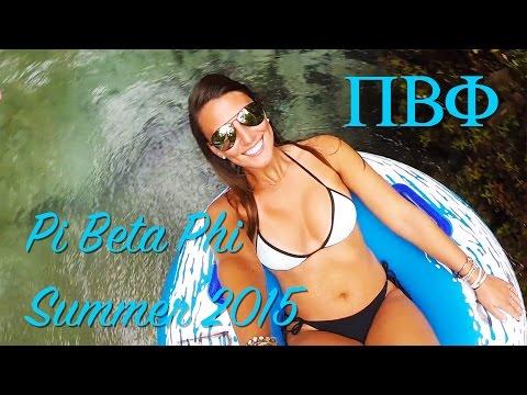 University of Florida - Pi Beta Phi Summer 2015