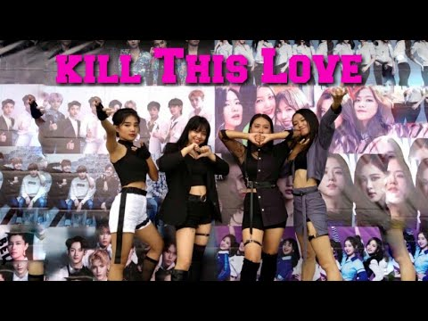 BLACKPINK- Kill This Love || Cover Contest By DarkQueens|| Kpop Contest 2k19|| 2nd Runner Up||