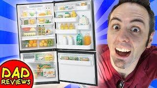 BEST LG REFRIGERATOR? | LG Refrigerator with Bottom Freezer (LBN22515ST) Review