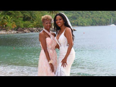 Kenya Moore from The Real Housewives of Atlanta