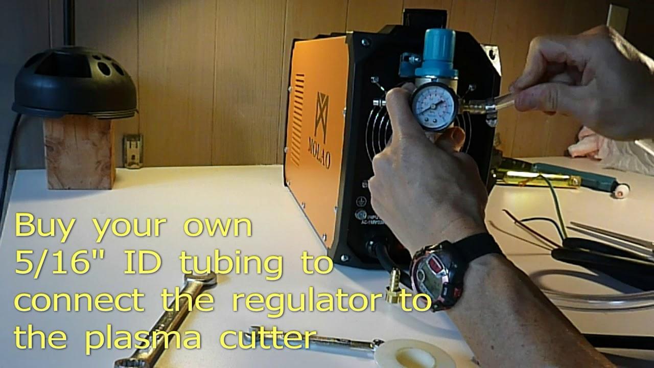 Plasma cutter hook up