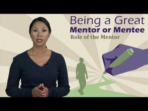 Being a Great Mentor or Mentee: Role of the Mentor