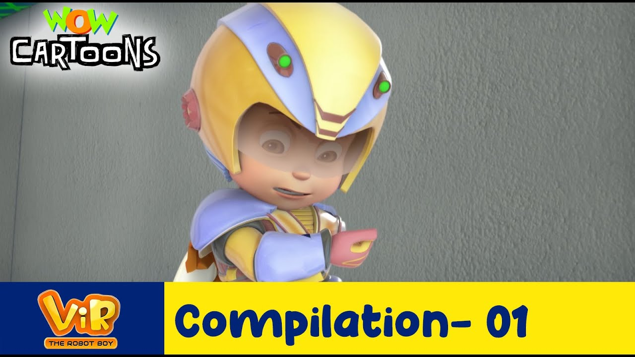 Vir the robot boy | Action Cartoon Video | New Compilation - 01 | Kids Cartoons | Wow Cartoons