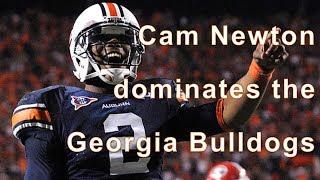 Cam Newton, Spread Offense, Auburn vs Georgia