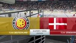 Eishockey WM 2018 | Dänemark - Deutschland | Gruppe B