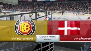Eishockey WM 2018   Dänemark - Deutschland   Gruppe B