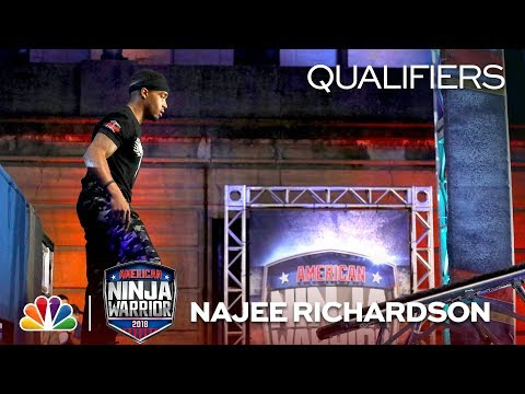 Najee Richardson  | American Ninja Warrior